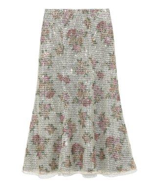 スパンコールマーメイドスカート