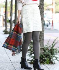 【WEB限定】【セットアップ対応商品】ケーブルニットスカート