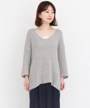 【KBF+】変形透かし編みルーズニット