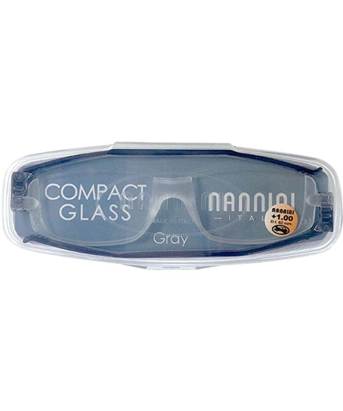 (BACKYARD/バックヤード)NANNINI ナンニーニ コンパクトグラス2/ユニセックス グレー