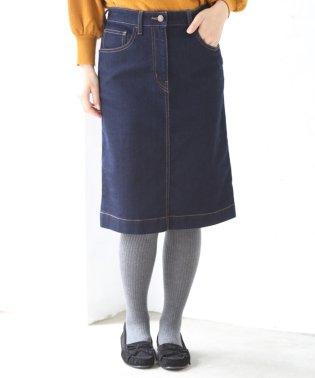 ストレッチデニムタイトミニスカート