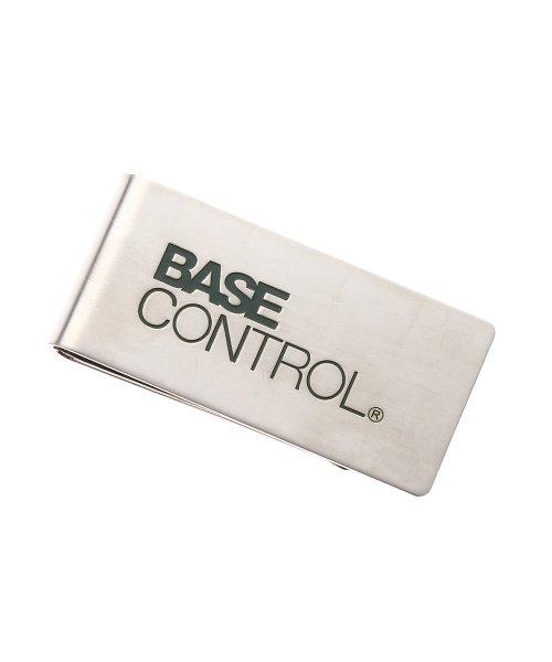 (BASECONTROL/ベースコントロール)マネークリップ ブランドロゴ WEB限定/メンズ シルバー(106)