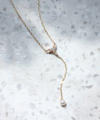 【WEB限定】calm pearl Yネックレス