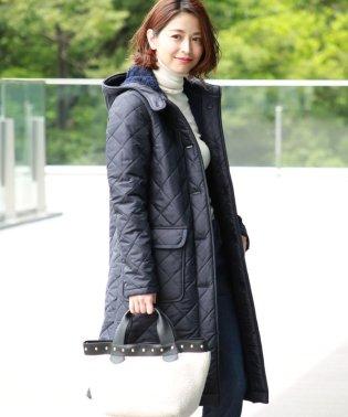 Traditional Weatherwear / 別注 GRANGE ボアロングコート