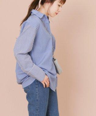 【KBF+】ストライプミックスシャツ