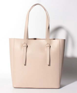 Leather Belted Tote