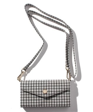 Gingham Check MobileShoulder X