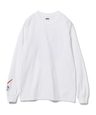 VEIL × Ray BEAMS / 別注 袖ロゴ ロングスリーブ Tシャツ