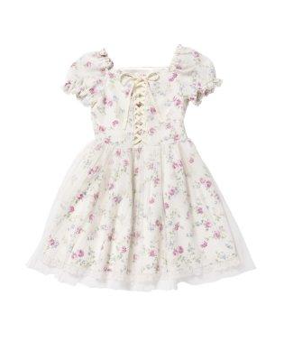 Vanilla Roseチュールワンピース /mille fille closet