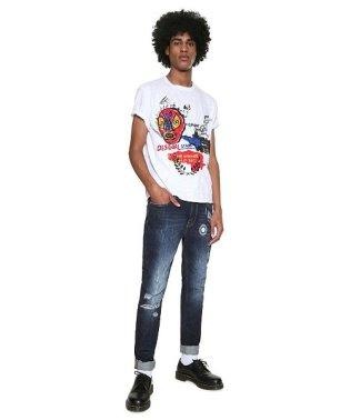 「Desigual/デシグアル」ルチャリブレ半袖Tシャツ