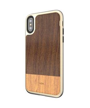 〈Kajsa/カイサ〉iPhone XS / iPhone X Wood Case/ウッド ケース バックケース