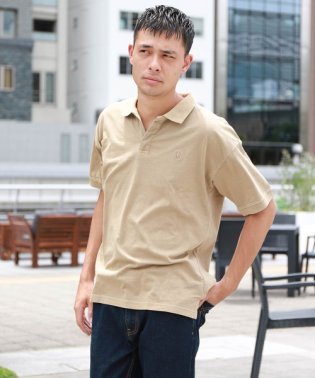 ピグメントポロシャツ
