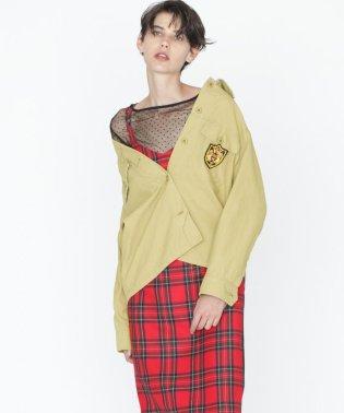 アーミーシャツジャケット