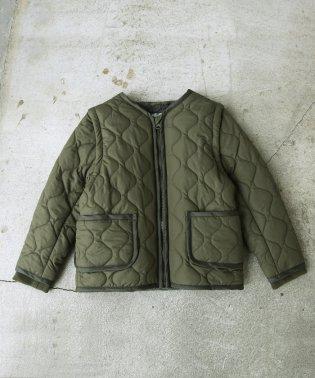 【coen キッズ / ジュニア】2WAYキルティングジャケット/ブルゾン/コート(100~150cm)