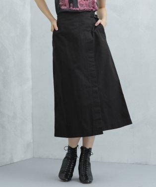 【STORY 10月号掲載】Gramicchi/別注ストレッチツイルラップスカート