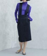 【With 11月号掲載】【steady. 10月号掲載】Dickies/別注ワイド2wayジャンパースカート
