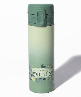 グロッサリー柄軽量ワンタッチボトル 300m