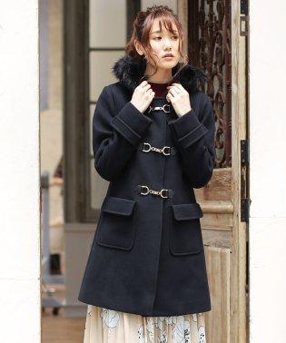 ★【WEB限定】二重織メルトンビット付きコート