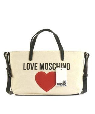 【LOVE MOSCHINO】JC4137MOSCHINO&HEARTトートWT10A