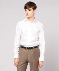 120/2フレンチツイル ワイドカラー ドレスシャツ NEW WIDE-5