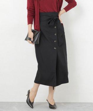 【WEB限定】サイドボタンストレートスカート