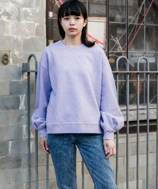BALLOON SLEEVE SWTS DUSTY LAVENDER 2.4