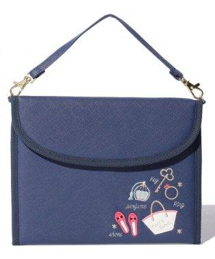 フェミニンモチーフ刺繍母子手帳ケースS