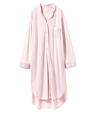 モダールパイピングシャツドレス