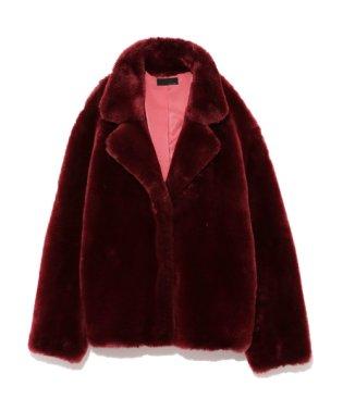 Tailored ecofur coat