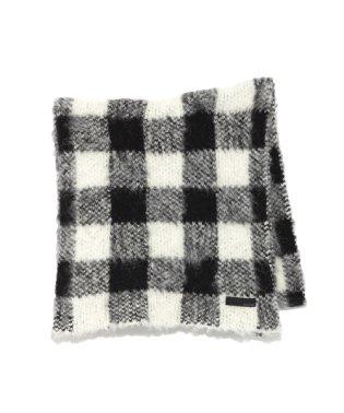 Jacquard knit muffler