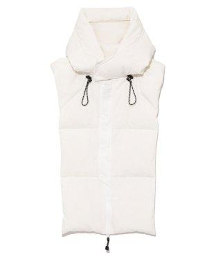 Down hoodie
