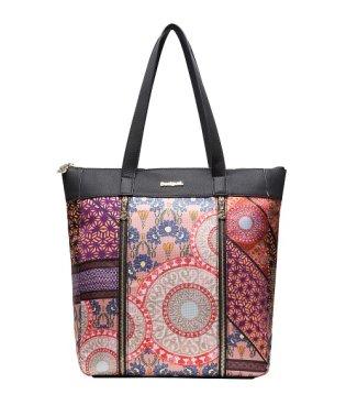 「Desigual/デシグアル」ファスナー付きショッピングバッグ