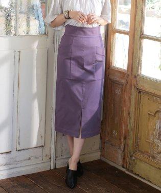 【InRed 10月号掲載】CRストレッチIラインスカート