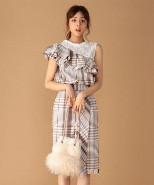 【TGC着用】オリジナルチェックタイトスカート