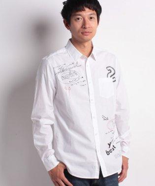 「Desigual/デシグアル」シンプルな白シャツ