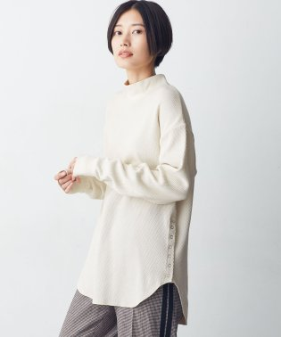 SPRiNG 12月号掲載【MIHO NOJIRI × nano・universe】FRUIT OF THE LOOM/別注サーマルモックネックロングトップス