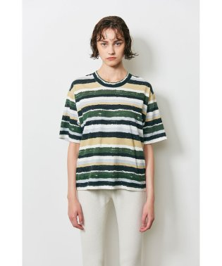 BORDER PAINTED T/S