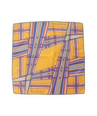 幾何学柄 スカーフ