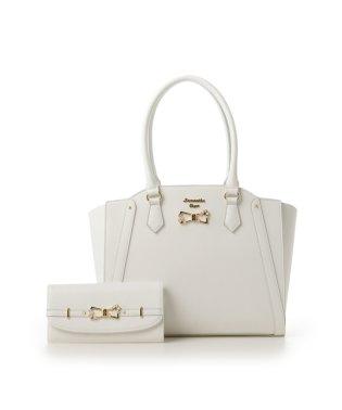 リボンモチーフバッグ+お財布セット