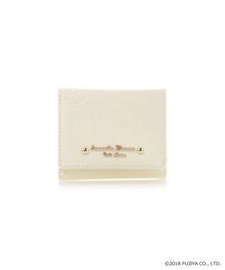 ペココレクションエナメル型押しミニ財布
