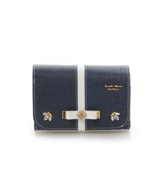 バイカラーシリーズデニムバージョン折財布