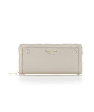シンプルボタンシリーズ(ラウンドジップ長財布)