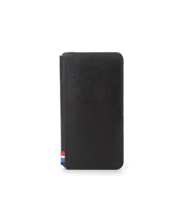 (KINGZ by Samantha Thavasa/キングズバイサマンサタバサ)トリコロールカラーiPhone6Plusケース/メンズ ブラック