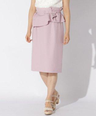 《2way》リノンタイトスカート