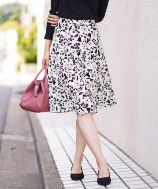【洗える】カットフレアスカート
