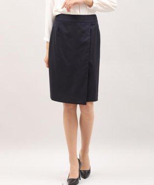 シルクウールラップ風スカート