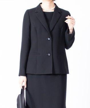 【オールシーズン・喪服・礼服・フォーマル用】テーラードフォーマルジャケット