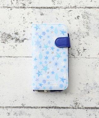 総柄ブック型iPhone5/5s/SEケース