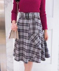 オリジナルチェック柄スカート