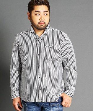 <大きいサイズ>イタリアンカラー長袖カッ